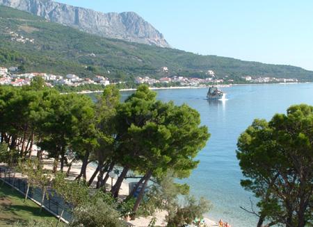 Tucepi ved Makarska Rivieraen. Foto: Kystblogen