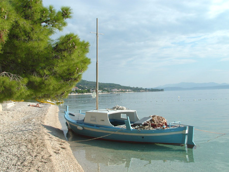 Fiskebåt i Tucepi. Foto: Kystbloggen