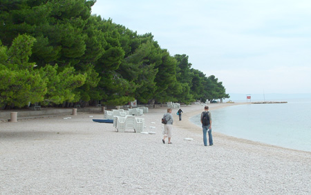 Baska Voda strand. Foto: Kystbloggen