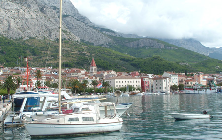 Makarska havn. Foto: Kystbloggen