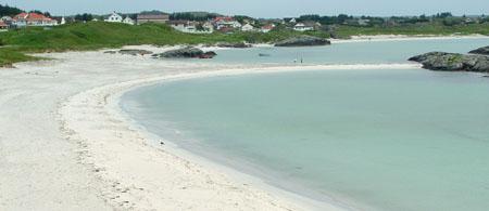 Litt av Åkrasanden. Foto: Kystbloggen