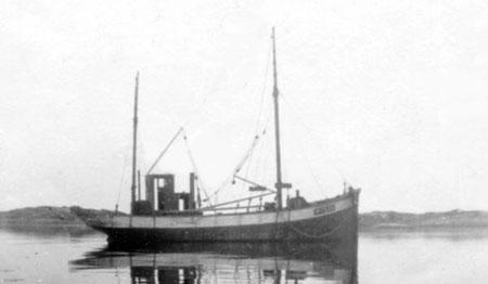 Tampen I i 1923. Foto utlånt av Kristian Slatlem