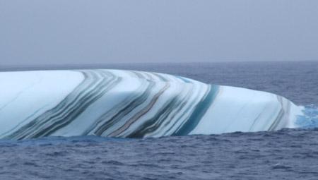 Marmorert isfjell. Foto: Kystbloggen