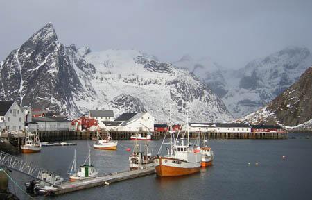 Hamnøy. Foto: fiskeri.no
