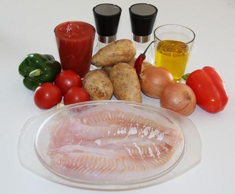 Ingredienser til bacalao mañana