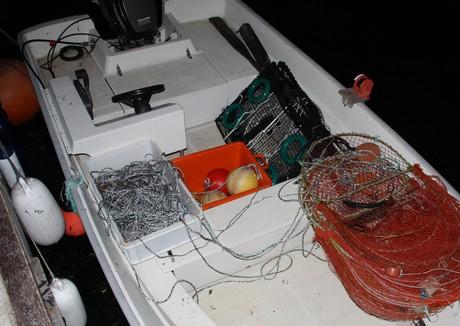 Rigget for hummerfiske