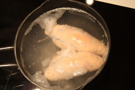 Torskerogn som koker